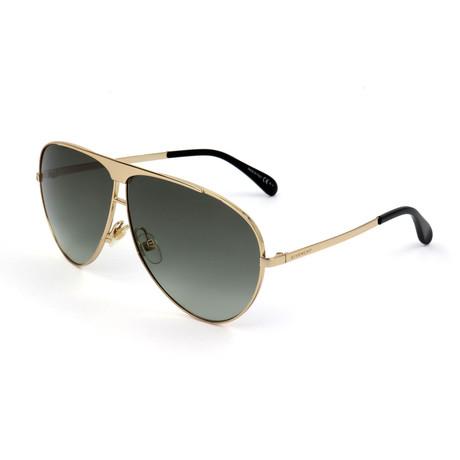 Givenchy // Unisex 7128 Sunglasses // Gold