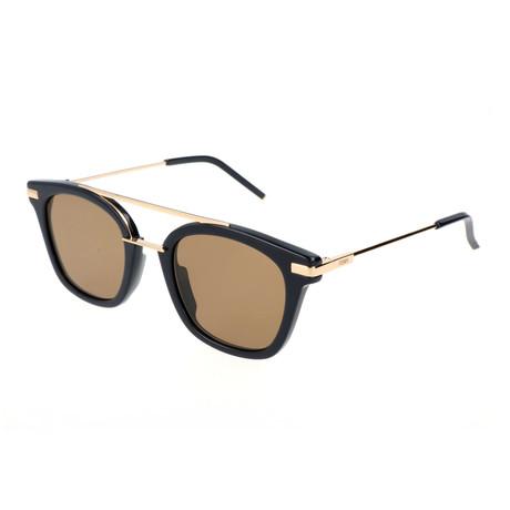 Fendi // Men's 224 Sunglasses // Blue