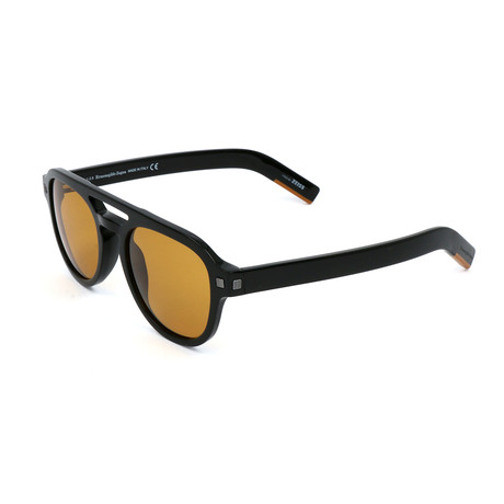 Men's EZ0113 Sunglasses // Shiny Black