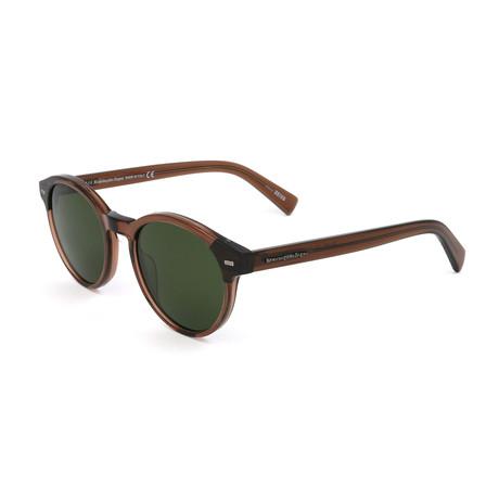 Men's EZ0081 Sunglasses // Dark Brown