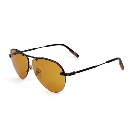 Men's EZ0117 Sunglasses // Matte Black