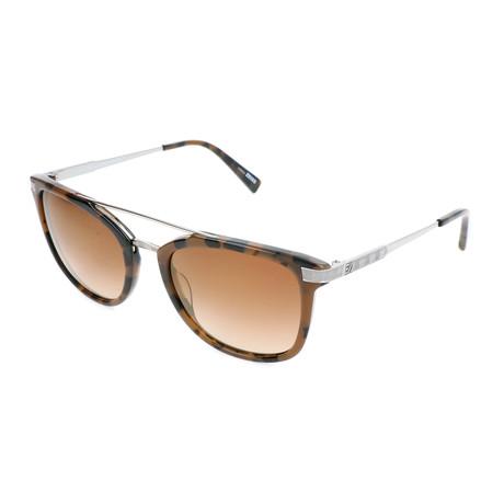 Men's EZ0078 Sunglasses // Coloured Havana