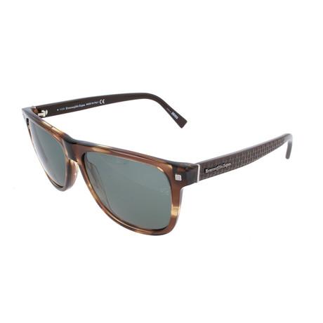 Mne's EZ0074 Sunglasses // Dark Havana