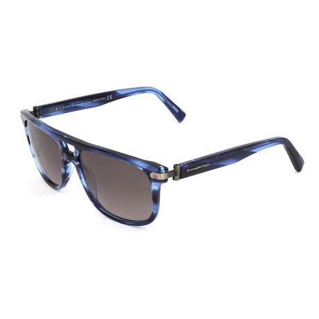 Men's EZ0042 Sunglasses // Matte Blue
