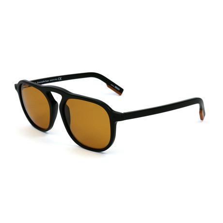 Men's EZ0115 Sunglasses // Shiny Black