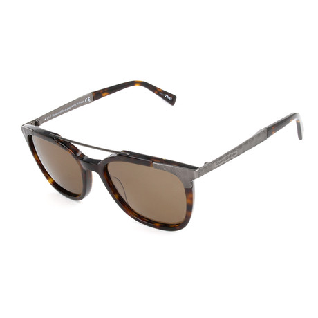Men's EZ0073 Sunglasses // Dark Havana