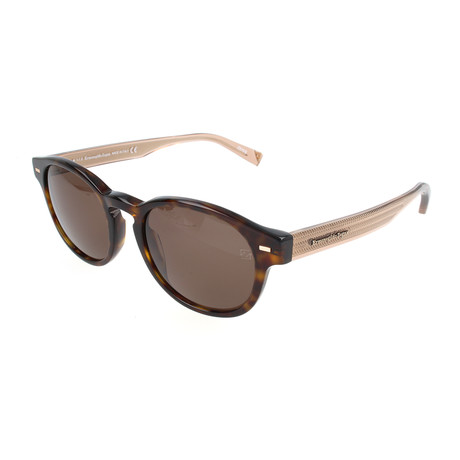 Men's EZ0029-N Sunglasses // Dark Havana