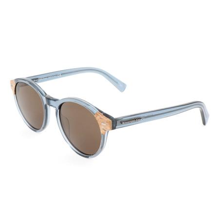 Men's EZ0081 Sunglasses // Shiny Light Blue