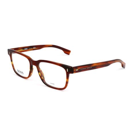 Men's 957-EX4 Optical Frames // Brown Horn Fade
