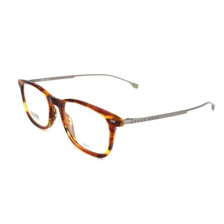 Men's 1015-EX4 Optical Frames // Brown Horn Fade
