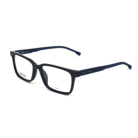Men's 924-AVS Optical Frames // Striped Blue