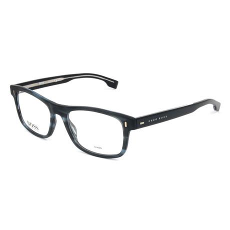 Men's 928-HW8 Optical Frames // Blue Horn