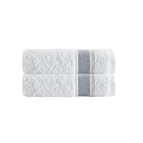 Unique Bath Towels // Set of 2 (Anthracite)