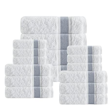 Unique Towels // Set of 16 (Anthracite)