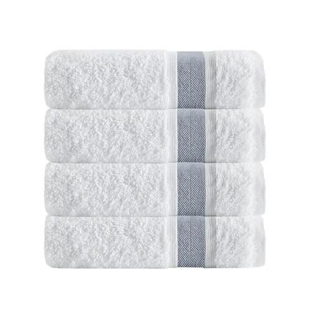 Unique Bath Towels // Set of 4 (Anthracite)