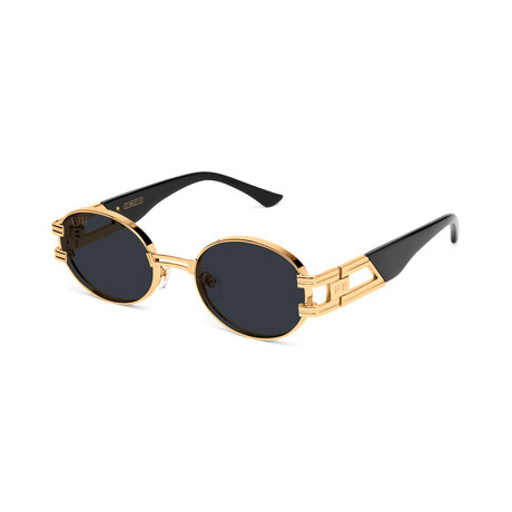 Unisex St James Sunglasses // Black + Gold