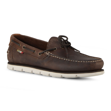Starboard Shoe // Timber Brown + Off White (US: 7)
