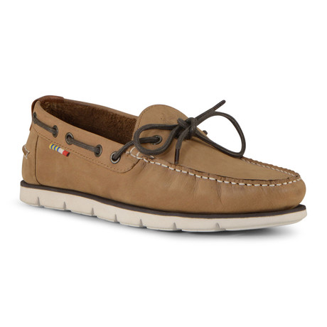 Starboard Shoe // Light Brown + Off White (US: 7)