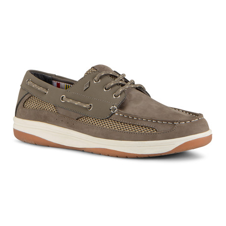 Regatta Shoe // Gray + Light Gray + Gum (US: 7)