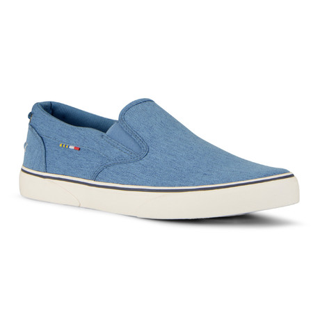 Pacific Slip-On // Blue + Navy (US: 7)