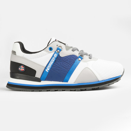 Cole Sneaker // Blue + White (Men's Euro Size 40)