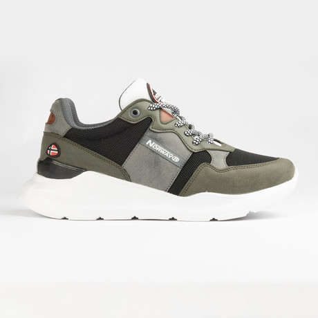Christopher Sneaker // Green (Men's Euro Size 40)