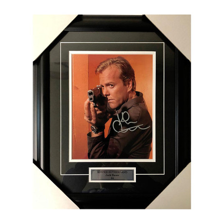 Kiefer Sutherland // 24 // Autographed Display