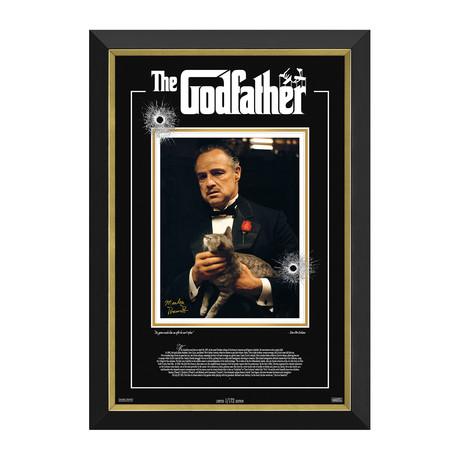 Marlon Brando // The Godfather // Limited Edition Facsimile Signature Display // 1/172