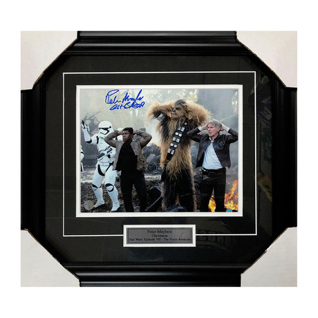 Peter Mayhew // Star Wars // Autographed Display