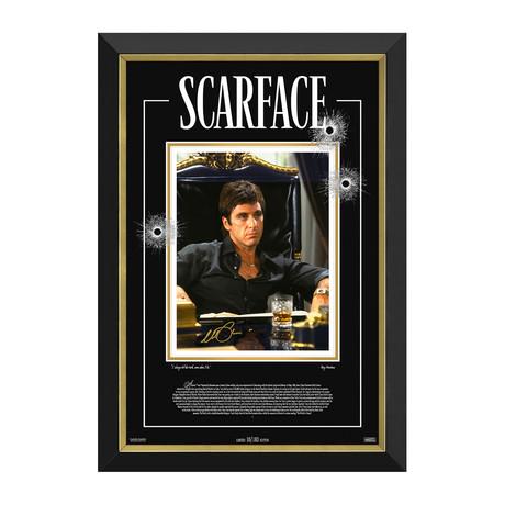Al Pacino // Scarface // Limited Edition Facsimile Signature Display