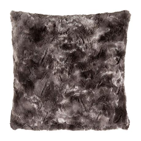 "Felina // White + Medium Gray (Pillow Shell Only (18"" x 18""))"