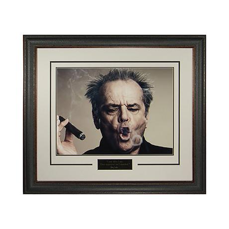 Jack Nicholson // I AM WHO I AM // Quote Plaque Display