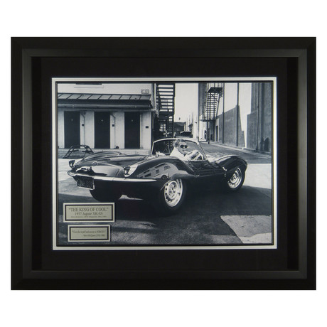 Steve McQueen // King of Cool // Quote Plaque Display