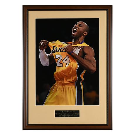 Kobe Bryant Quote // Unsigned