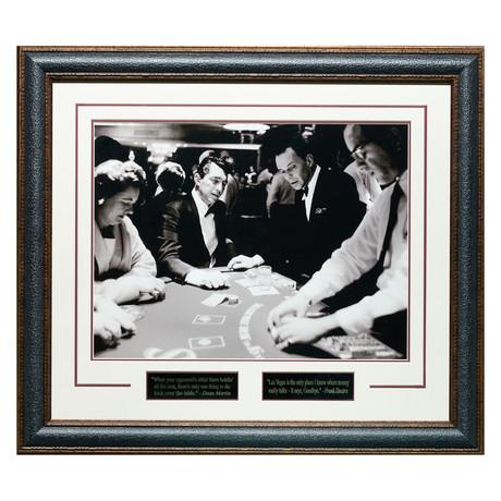 Frank Sinatra + Dean Martin // Casino // Quotes Plaque Display