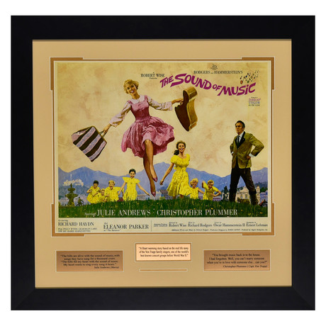 The Sound of Music // Quote Plaque Display