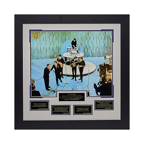 The Beatles // Ed Sullivan // Unsigned