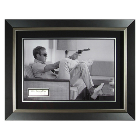 Couch // Steve McQueen Collectible Display // Unsigned