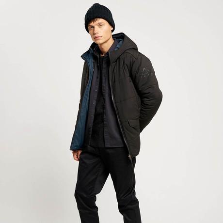 Jensen Reversible Jacket // Black + Navy (S)