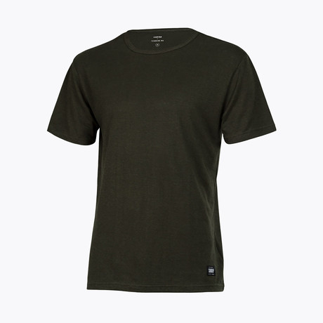 Anti Odor + Bacterial T-Shirt // Forest Green (X-Small)