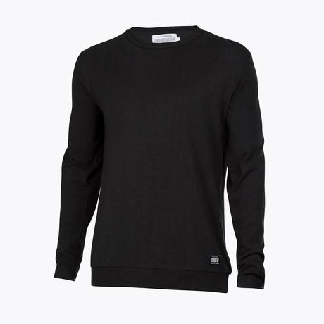 Anti Odor + Bacterial Sweater // Phantom Black (X-Small)