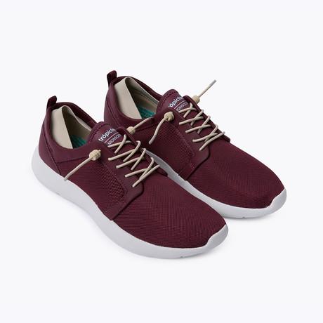 Monsoon Sneaker // Chocolate Red (Euro: 37)