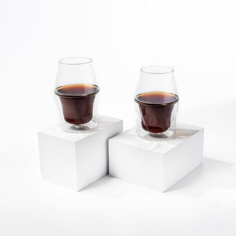 AVENSI Coffee Enhancing Glasses // 2 Piece VIDA Starter Set