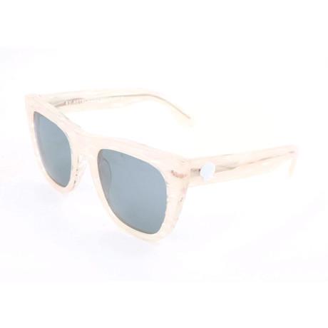 Women's Gals Marina Sunglasses // Transparent Beige