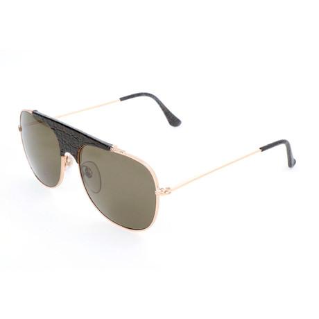 Men's Primo Belloccio Sunglasses // Gold