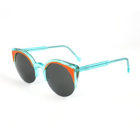 Unisex Lucia Surface Anice Sunglasses // Green