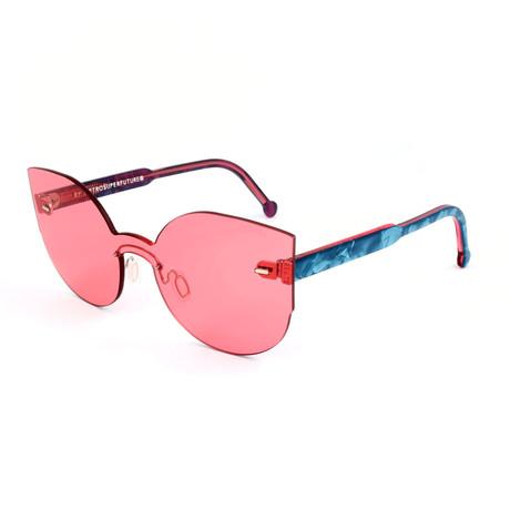 Women'S Lucia Amaranth Sunglasses // Pink