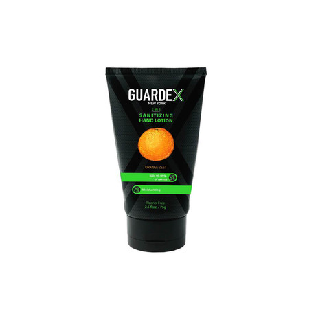 GuardeX 2-in-1 Sanitizing Lotion (Oranze Zest)