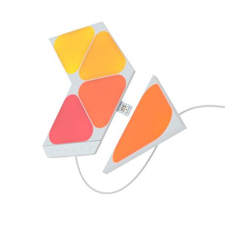 Nanoleaf Shapes // Mini Triangles Smarter Kit // 5 Panels