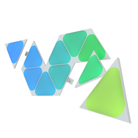 Nanoleaf Shapes // Mini Triangles Expansion Pack // 10 Panels